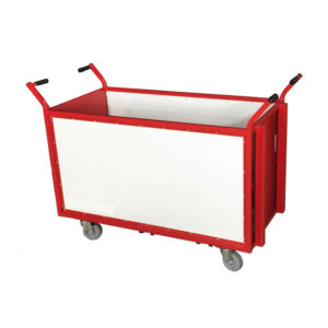 Spring Loaded Box Trolleys With Handles