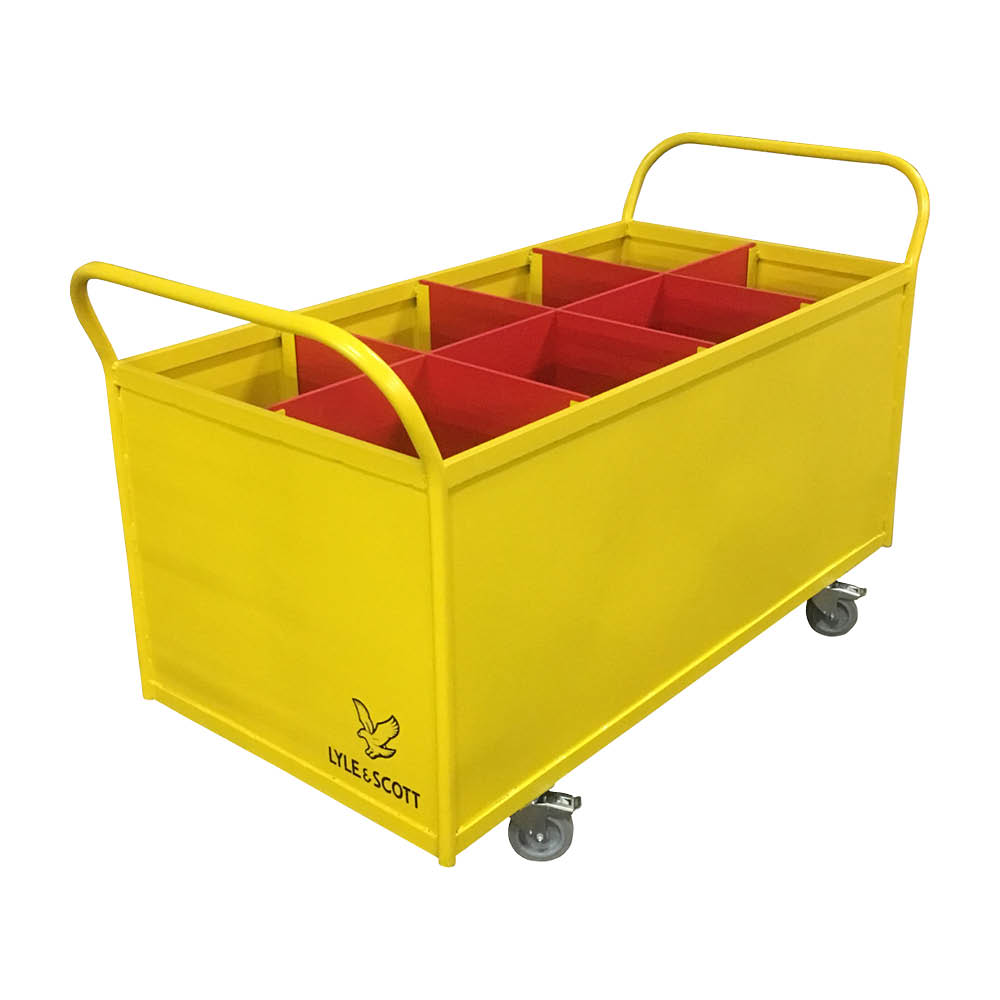 Divided Container Trolley