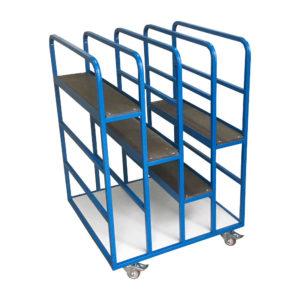 Box Racks Trolley Blue