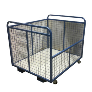Large Mesh Container Trolley