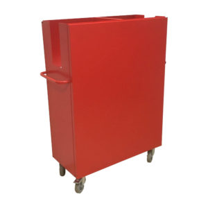 Tall Spring Loaded Trolley (front)