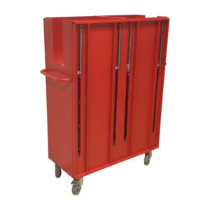 Tall Spring Loaded Trolley (back)