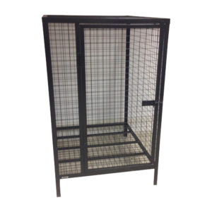 Locking Cage With Single Door