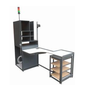 Z Storage Bench With Signal Light