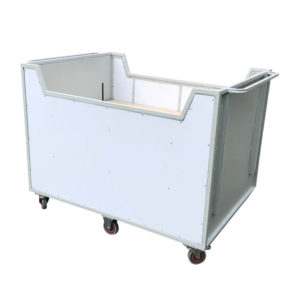 Heavy Duty Large Spring Loaded Trolley With Extra Castor Wheels