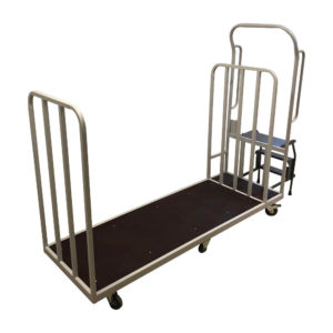 Flatbed Trolley With Step