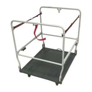 Flatbed Trolley With Straps