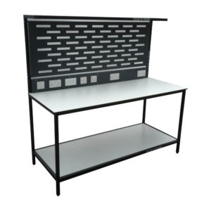 Work Bench With Electrical Points