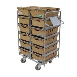 Twelve Tote Box Tote Trolley