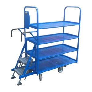 Blue Step Trolley