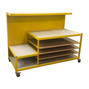 Work Bench With Shelves