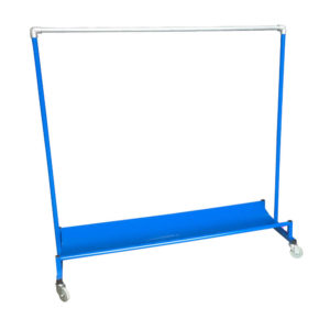 Garment Rail With Curve Shelf