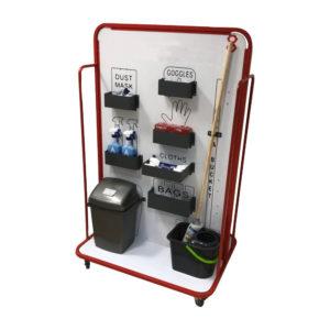 Red Hygiene Station