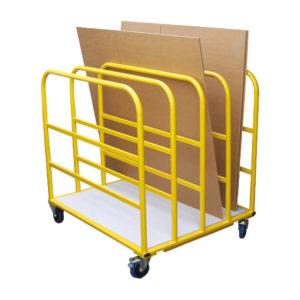Cardboard Toast Rack Trolley