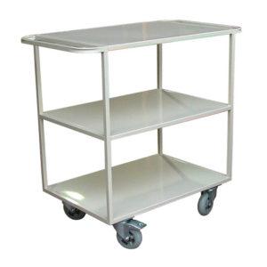 Wide Flat Shelf Trolley