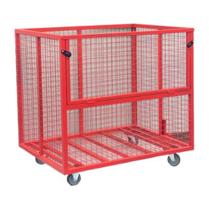 Fold Down Front Security Cage