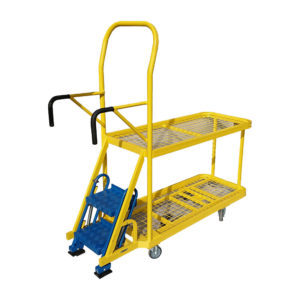 Yellow Step Trolley