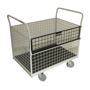 Container Trolley With Drop Front