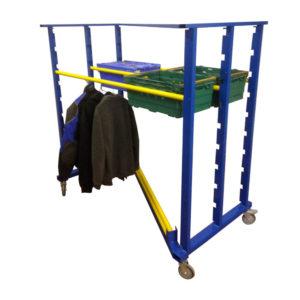 Z Bar Height Adjustable Clothing Rail