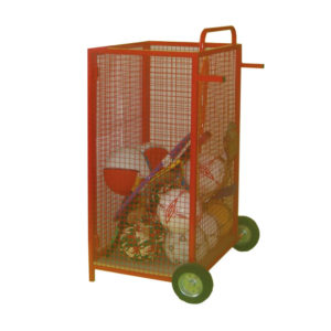 Upright Mesh Sports Trolley