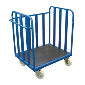 Square Flatbed Trolley