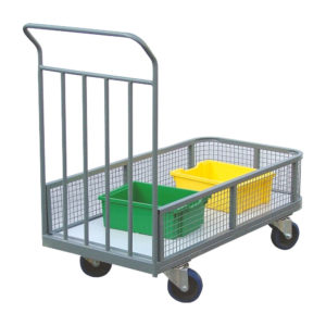 Flatbed Truck With Mesh