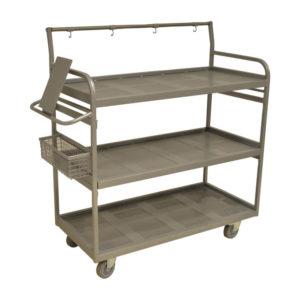Shelf Trolley With Hooks