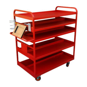 Double Side Trolley With Device Holder