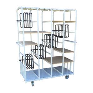 Toast Racks Trolley