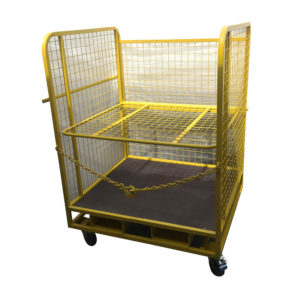 Open Front Cage Trolley